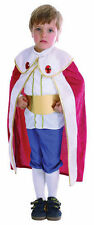 BOYS TODDLER KIDS KING FANCY DRESS COSTUME  2 - 4 YEARS PRINCE CHARMING