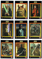 STAR WARS EPISODE 1 SET OF 10 CARDS PRODUCED BY KFC IN AUSTRALIA