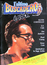 BUSCADERO 29 1983 Costello Quicksilver Frank Zappa David Bowie Weather Report