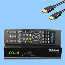 Medialink Black Panther Smart Home 1 Card Digital FULL HDTV SAT-Receiver LAN USB