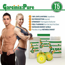 30 GARCINIA CAMBOGIA T5 EXTREME FAT BURNER WEIGHT LOSS DIET PILLS LOSE 14LB FAST