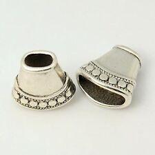 Legierung Perlenkappen Zwischenperlen Metallperlen Perlkappen,Antik Silber Farbe