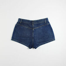 New Look Womens Size 8 Blue Denim Shorts Hot Pants