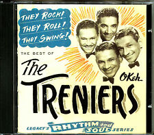 THE TRENIERS - THE BEST OF THEY ROCK ! THEY ROLL ! THEY SWING ! CD ALBUM  [512]