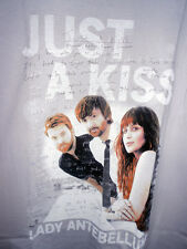 Lady Antebellum Just A Kiss XXL T Shirt. Brand New. With Tags. Never Worn.