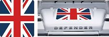 LAND ROVER DEFENDER 90 / 110 Aftermarket DECAL Bonnet Sticker SET UK Flag Union