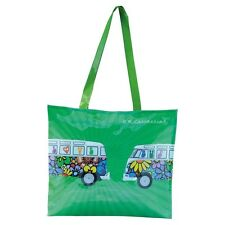 VW VOLKSWAGEN-T1 PVC SHOPPER BAG LOVE BUS-COMPLETE WITH TAG-BRAND NEW-BUSB03