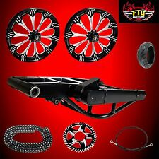 Hayabusa Warlock 360 Fat Tire Kit  Complete 360mm Wide Tire Kit
