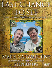 Last Chance to See by Stephen Fry, Mark Carwardine (Hardback, 2009) Book New