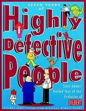LIKE NEW! Seven Years of Highly Defective People by Scott Adams 1997, Hardcover