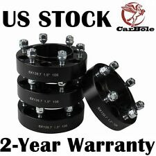 "4 PCS TOYOTA 1.5"" THICK BLACK HUB CENTRIC WHEEL SPACERS ADAPTERS 6X139 OR 6X5.5"