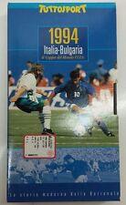 1994 Italia - Bulgaria 2-1 6a Coppa del Mondo FIFA Semifinale Tuttosport VHS CN