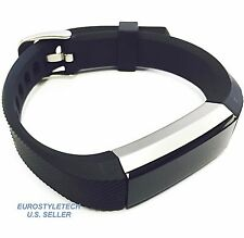 High Quality Black Silicone Adjustable Band For Fitbit Alta HR Wristband Strap