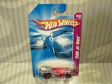 2008 HOTWHEELS ''TEAM:JET RIDES'' #123 = FIRESTORM = RED & SILVER  us