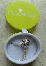 Genuine Chamilia 925 Tis the season tassel  bracelet charm 2010-3062 in box