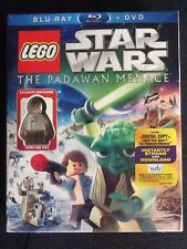 "Lego Star Wars ""The Padawan Menace"" Bluray 2-Disc Set New"
