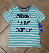 NWT- Boy's Fabkids T-Shirt. Size Medium, Size 6/7. AWESOME ALL DAY EVERY DAY.