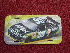 CARL EDWARDS # 99 AFLAC LICENSE PLATE