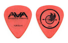 Angels & Airwaves Tom DeLonge Wheel Orange Guitar Pick - 2010 Tour Blink-182