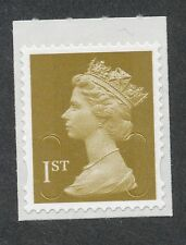 "2011 ""M11L"" ""MBIL"" 1st Class MACHIN Single Stamp from Business Sheet"