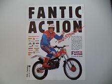 advertising Pubblicità 1989 MOTO FANTIC 50 JUNIOR TRIAL