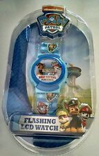 Paw Patrol Flashing LCD Watch Blue