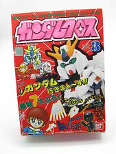SD Gundam Cloth Series No. 3 RX-93 Nu Gundam Action Figure Bandai Japan USED