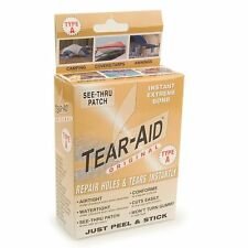 Tear Aid Fabric Repair Kit Nylon Canvas Neoprene Awning Camping Tent Type A