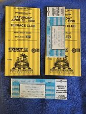 LOT 1990 TOYOTA GRAND PRIX RACE WHOLE TICKET W/ LUNCH COUPON & CLUB ENTRY PASS