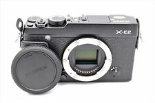 FUJIFILM X-E2 16.3MP MIRRORLESS DIGITAL CAMERA BODY BLACK