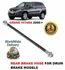 FOR SUZUKI  GRAND VITARA 2005--  NEW REAR BRAKE RUBBER HOSE FOR DRUM BRAKES