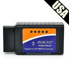 Wireless ELM327 Bluetooth OBD 2 CAN V1.5 Scan Tool Android OBD Reader / Scanner