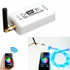 Wireless RGB Wifi LED Strip Controller for iOS iPhone Android Smartphone Tablet