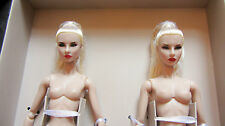 "Nude Fashion Royalty Agnes Giselle: Sister Moguls 12"" Doll New!!!"