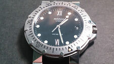 955.112 movement with Movado Vizio case for parts no returns. missing stem/crown