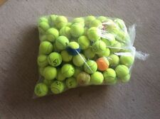 12 Used Tennis Balls - Dog Toys, Games, All Washed, 10% to Dog Charity, Freepost
