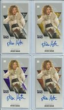 Topps Doctor Who Adventures Alex Kingston / River Song Autograph Set #ed 1 10 25