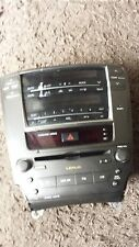 LEXUS IS 220D 250 350 Central Panel Radio mit CD