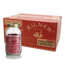 Set Of 4 1L Kilner Screw Top Glass Jam Chutney Preserving Storage Pots Jars