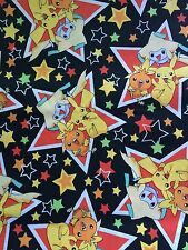 2005 Nintendo Pokemon fabric HTF OUT OF PRINT - By The Yard