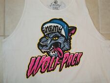 Wolf Pack Enemy of the State Gangsta Hip Hop Tank Top Sleeveless T Shirt 3XL