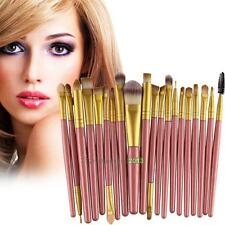 20pcs Kabuki Type Professional Make up Brush Sets Foundation Blusher Face Powder