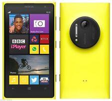 Nokia Lumia 1020 32GB Yellow Unlocked C *VGC* + Warranty!!