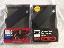 Seymour Duncan Dino Cazares Retribution 8 String Bridge & Blackouts AHB-1N Neck