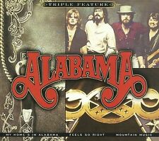 Alabama - My Home's In Alabama / Feels So Right / Mountain Music New 3 CD Set