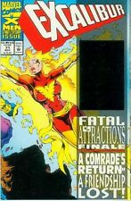 Excalibur # 71 (52 pages,hologram on cover,X-Force app.) (USA, 1993)