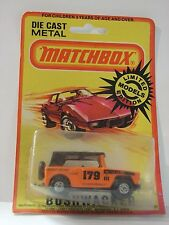 MATCHBOX FIELD CAR BUSHWACKER 18 MIB NEUF BOITE