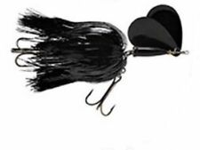BLUE FOX SUPER VIBRAX MUSKY TWIN TURBO  Black Momba    #7