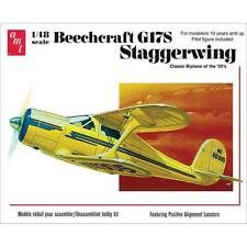 AMT 1:48 Beechcraft G17S Staggerwing Plastic Model Kit AMT886