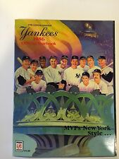 Yankees Official 1986 Yearbook  MVPs NY Style